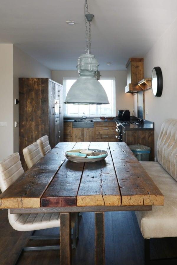 Tafel gebruikt hout   Op maat   Esgrado