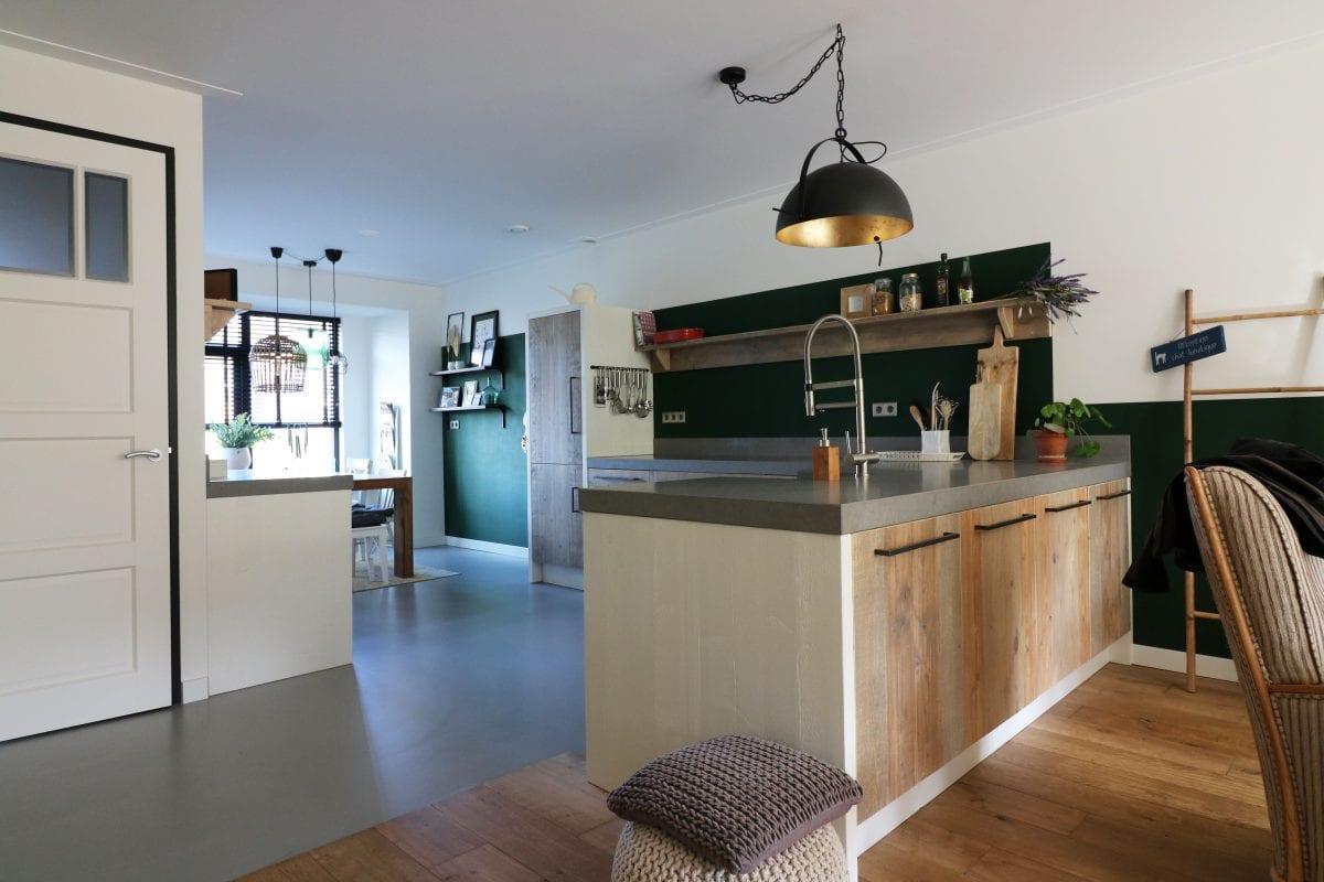 Hippe maatwerk keuken Heemskerk